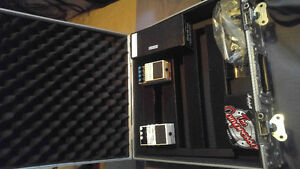 Pedals, Pedal Board, Octa Switch and Pedal Board Case