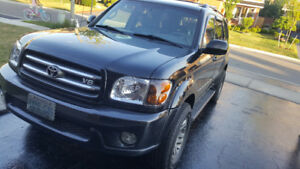 Toyota Sequoia fully loaded, limited edition, Navigation