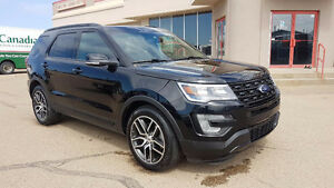 2016 Ford Explorer SPORT, 4X4, LEATHER,