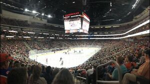 All Oilers home games, picture isfrom my seats