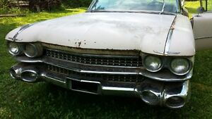 1959 Cadillac DeVille -  Anniversary Model,  Restoration project