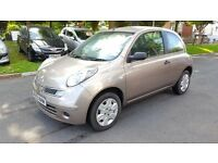 2009 NISSAN MICRA VISIA DCI 1.5L DIESEL 3 DOOR HATCHBACK +++AUX++CD++CENTRAL LOCKING++