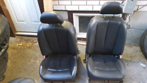 2004 NISSAN ALTIMA 2.5/FRONT AND REAR SEATS