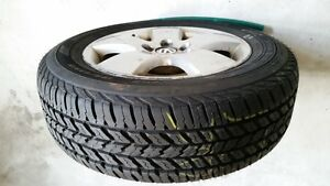 All season 195/65R15 tire with original OEM aluminum alloy rim