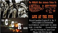 BR. 5 LEGION:  Tribute Band CCR - Creedence Cleawater Revival