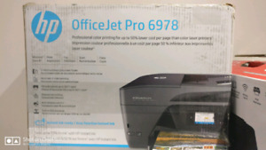 HP OfficeJet Pro 6978 Wireless All in One Photo Printer with Mob