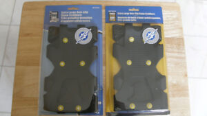 NEW EXTRA LARGE NON-SLIP SNOW GRABBERS - TWO PAIR