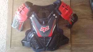 Fox dirtbike chest protector