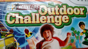 "Wii  ""Outdoor Challenge"" video game and mat controller"