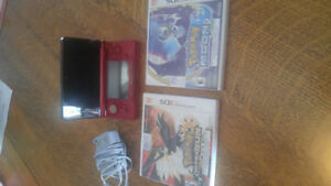 DS With 3 Games in like new condition