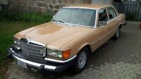 1977 Mercedes Benz 280SE, EURO Lights, original paint, rust free