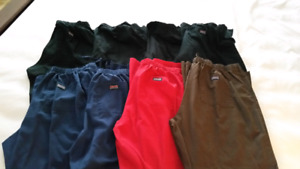 8 pairs size large nursing scrub pants