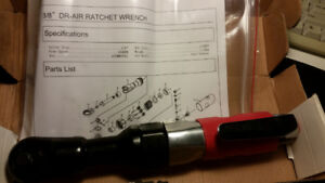3/8 Air Ratchet Wrench