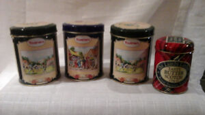Antique Candy Tins