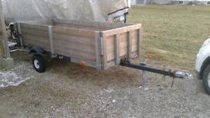 10 foot utility trailer