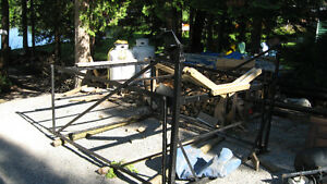 NEED GONE NOW!! CANTILEVER BOAT LIFT IN BUCKHORN 519-535-2253 Kawartha Lakes Peterborough Area image 6