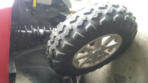 set of atv tires