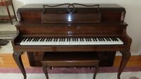 Piano - Nordheimer upright apartment size