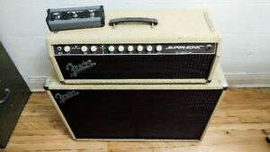 Fender Super-Sonic 60  Head/Cab + Footswitch