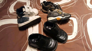 Boys shoes 3 -6 months to size 6
