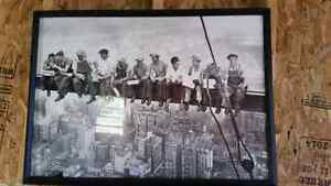Ironworker lunch atop a skyscraper