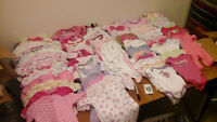 3 boxes30$ for each box sleepers,diaper shirts,pants,sweaters&mo
