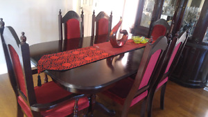 Dining table , mirror& table