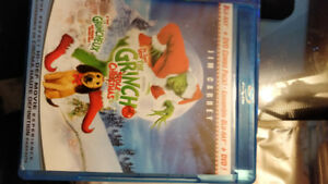 How The Grinch Stole Christmas Blu Ray/DVD Jim Carrey