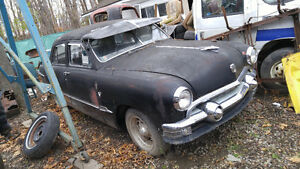 1951 ford custom hot rod project