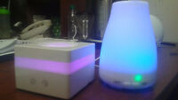 TWO brand new sealed essential oil diffusers ,, 7 changing color