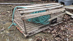 Lobster traps for decoration