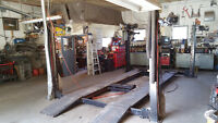 Mechanic retiring, equipped shop & house for sale 1 acre Creston