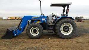 NEW HOLLAND T5070 LOADER TRACTOR / READY TO WORK / ***455HRS*** London Ontario image 3