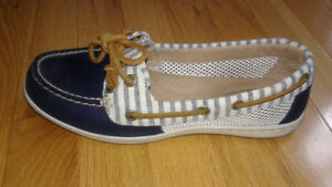Sperry Firefish Striped Boat Shoes