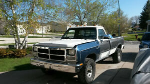 1993 Dodge Cummins 2500 4x4