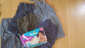 Pants 2T+ 18 diapers