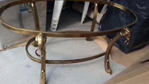 Table salon de luxe classique