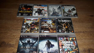 Amazing Classic PlayStation 3 & 4 Games For Sale!!