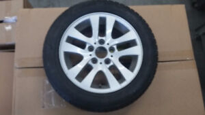 4x Winter tires on Original Mags for 2011 BMW 328xi