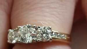 3 Stone Ring For Sale London Ontario image 3