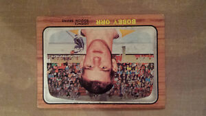 1966/67 TOPPS BOBBY ORR ROOKIE CARD