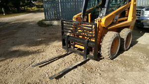 PALLET FORKS FOR  SKID STEER LOADERS
