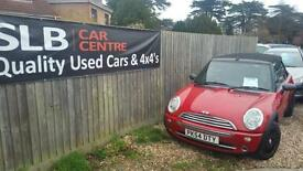 2004 stunning Mini 1.6 One convertible john cooper special edition