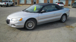 2005 Chrysler Sebring Convertible. Safety/Warranty