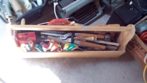 Assorted tools and items