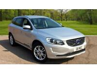 Volvo XC60 2.4TD D4 ( 181bhp ) 4X4 Geartronic 2015MY SE Lux Silver