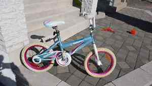"""Bicyclette pour filles 16"""" girl's bike"""