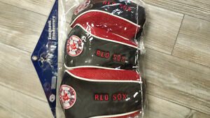 Boston Red Sox golf blub covers