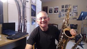 Saxophone lessons online Kitchener / Waterloo Kitchener Area image 1