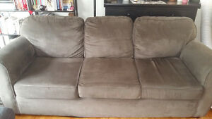 Moving - Price Reduced - Microfibre Couch
